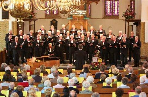 Concert mannenkoor Cantiflora
