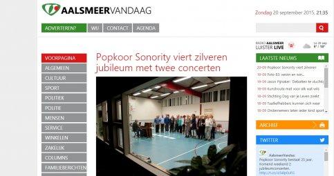 Reportage op AalsmeerVandaag